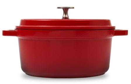 Panela Caçarola Grand Gourmet 28cm Vermelha Indução