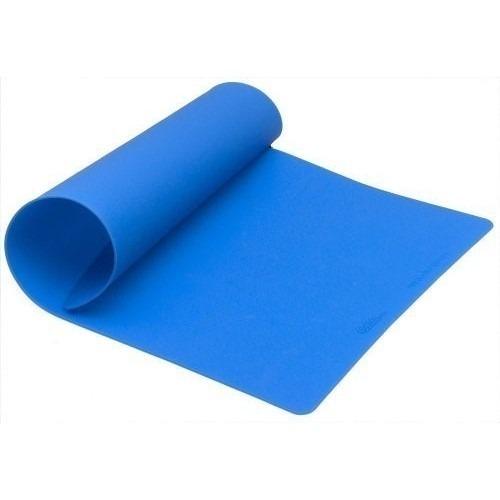 Tapete de Silicone Azul para Assar