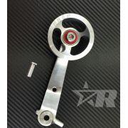 Pedal Acelerador Roller Alumínio Billet Roletado - MODELO AERO Runner