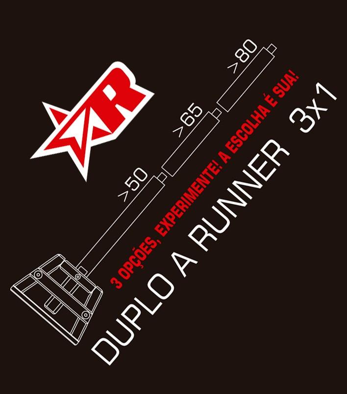 """Alavanca de Engate Rápido Duplo """"A"""" Torre Alta - 80cm"""