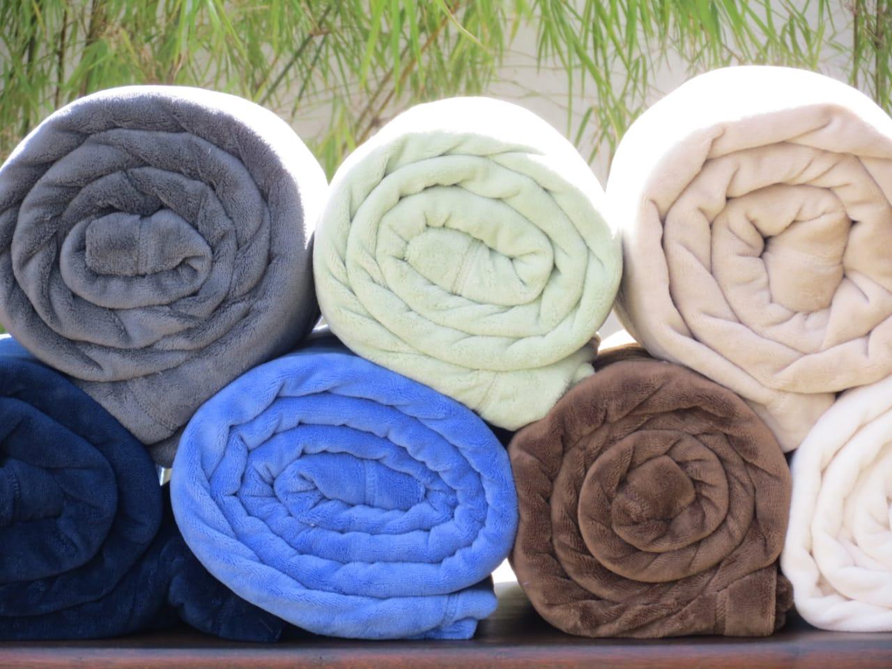 Coberto de Microfibra - Queen - Matinali Têxtil