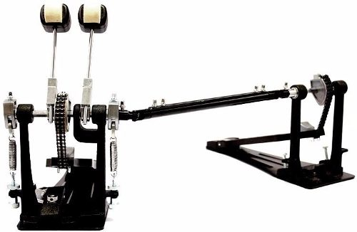 Pedal Duplo Bateria Odery Fluence Pd802 Bumbo