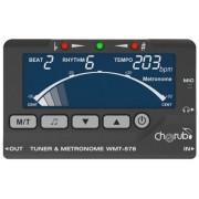 Afinador Cromatico Cherub Wmt578 C/ Metronomo