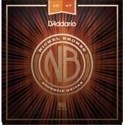 Encordoamento Daddario NB1047 Extra Light 010 P/ Violão Aço