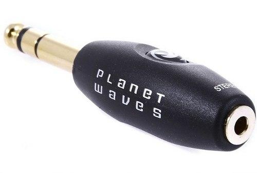 Plug Adaptador Planet Waves P2 / P10 Estéreo PWP047E
