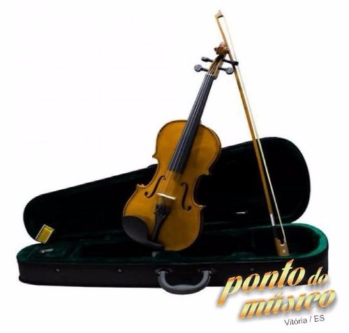 Violino Tradicional Dominante 4/4 Completo C/ Case