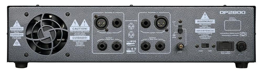 Amplificador de Potência Oneal OP2800 1000w RMS Bivolt