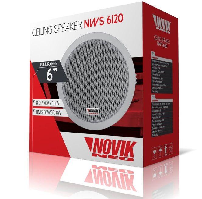 Arandela Novik NWS6120 32w Ambiente e Gesso