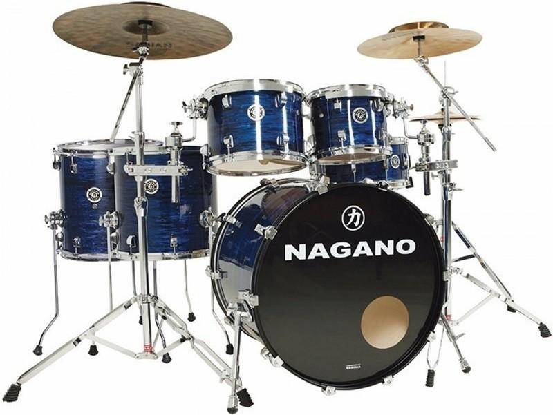 Bateria Acustica Nagano Tagima Concert Celluloid Full 2 surdos Bumbo 22