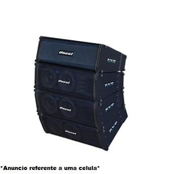 Caixa Line Array Ativo Oneal Evo OLA260 Preto 2 x 6 350w RMS
