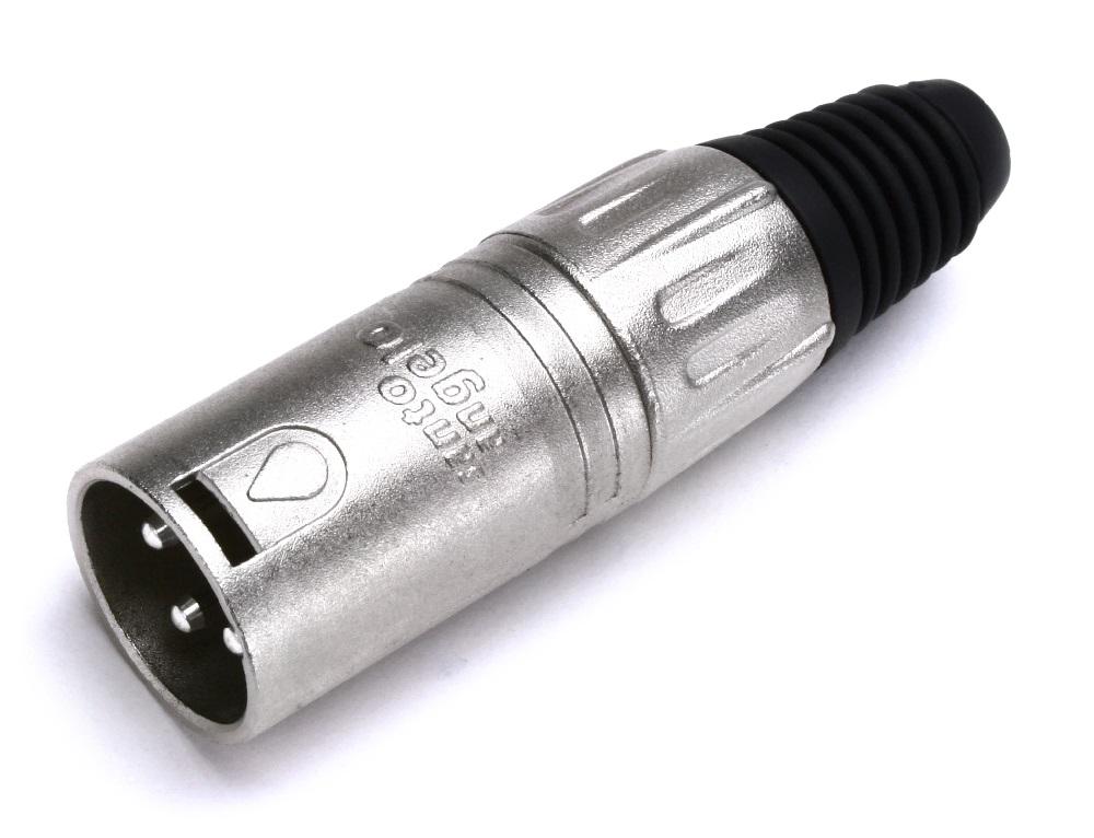 Conector Santo Angelo XLR Canon Linha Macho L3MNN01
