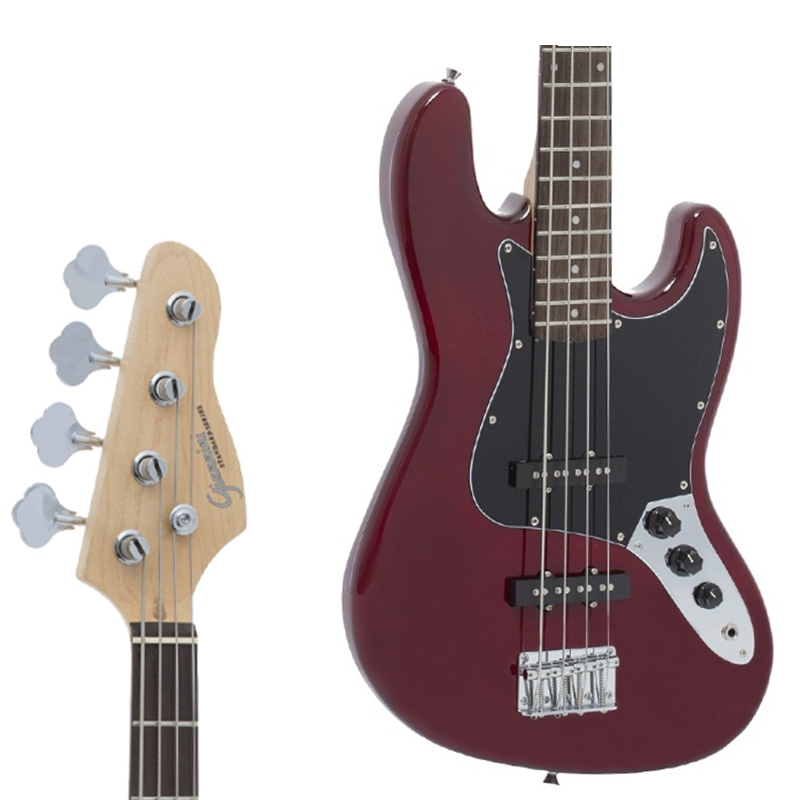 Contra Baixo Jazz Bass Giannini Gb1 Sonicx 4 Cordas - Vinho