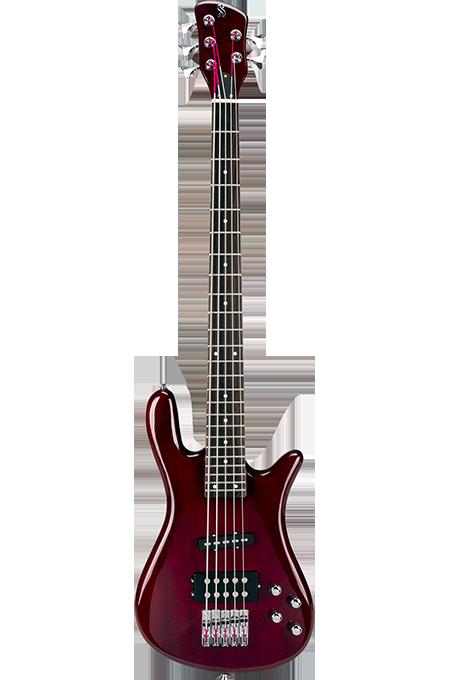 Contra Baixo Jazz Bass Sx SWB15 5 Cordas - Vinho