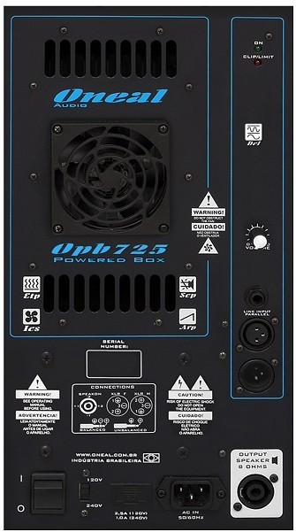 Caixa Ativa Oneal 12 OPB725 200w RMS