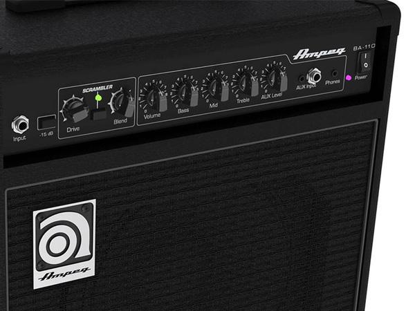 Cubo Amplificador Baixo AMPEG BA110 V2 10