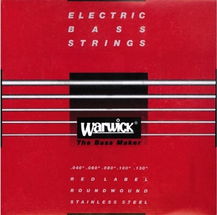 Encordoamento Warwick 040 P/ Contra Baixo 5 Cordas