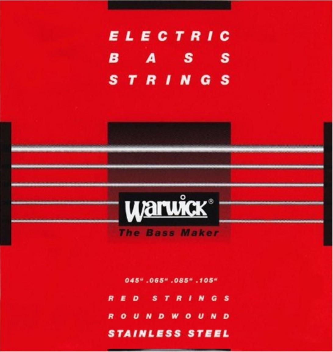 Encordoamento Warwick 045 P/ Contra Baixo 4 Cordas