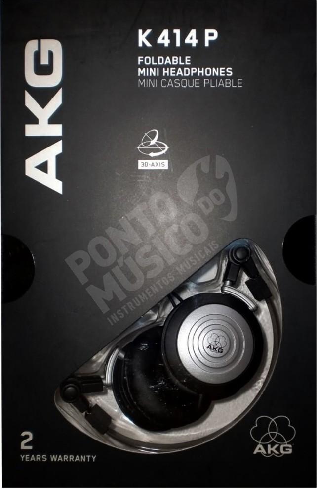Fone De Ouvido Akg K414P Profissional Original + Bolsa