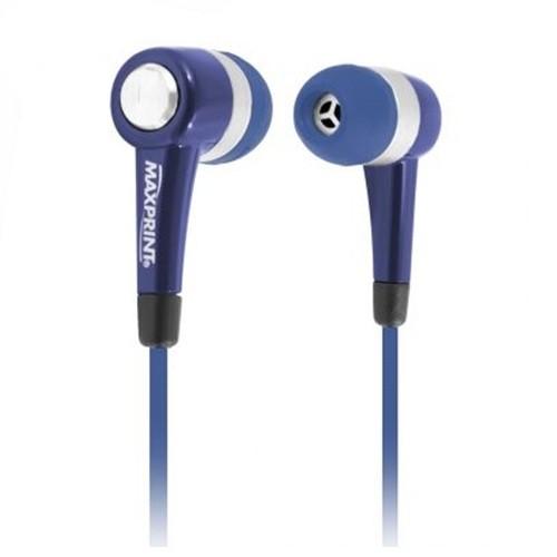 Fone De Ouvido Maxprint Max Sound In Hear - Azul