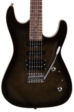 Guitarra Tagima Memphis Mg230 2 Single Ponte Humbucker - Preto Transparente