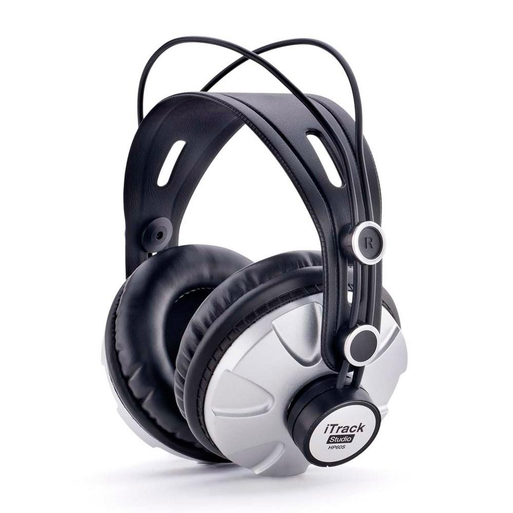 Kit Gravação Focusrite Itrack Studio USB C/ Placa   Microfone   Fone