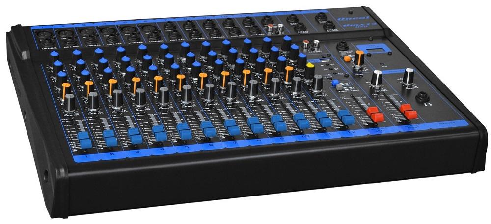 Mesa De Som Oneal OMX12USB 12 Canais XLR P10 C/ Usb + Controle