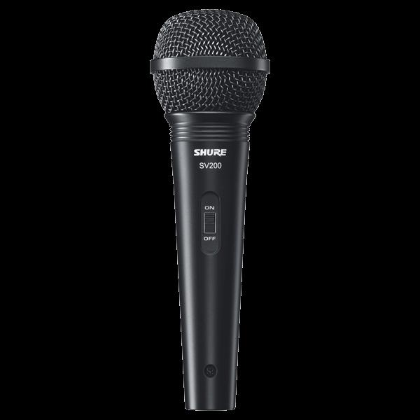 Microfone Shure Sv200 Vocal Dinamico C/ Cabo XLR