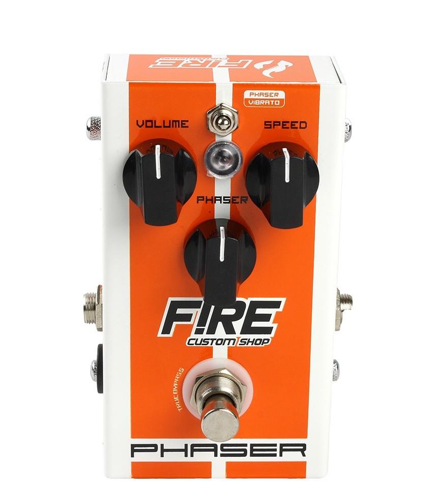 Pedal Guitarra/ Baixo Fire Phaser Vibrato