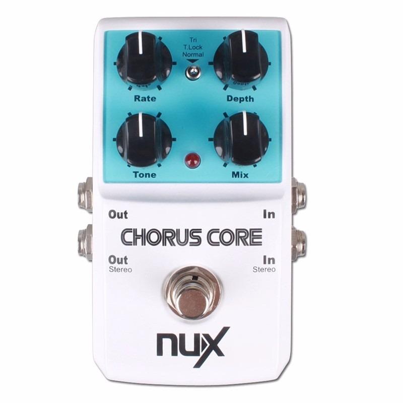 Pedal Modulação Nux Chorus Core True Bypass