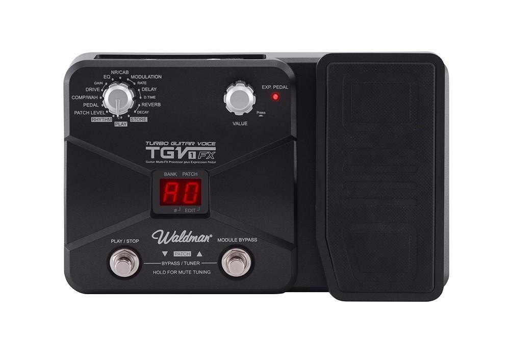 Pedaleira Para Guitarra Waldman TGV1FX Turbo Guitar C/ Fonte