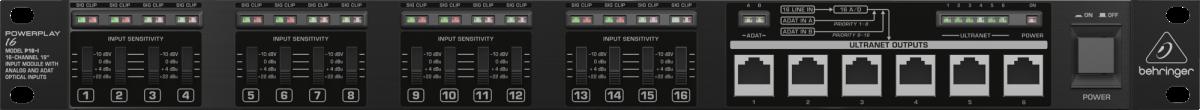 Processador Powerplay Behringer P16-i