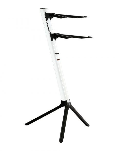 Suporte P/ 2 Teclados Stay Slim 1100/02 Aluminio C/ Bag
