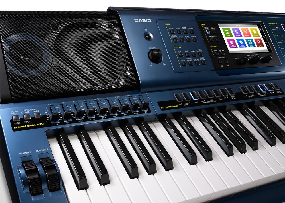 Teclado Arranjador Casio MZ-X500 61 Teclas C/ Fonte