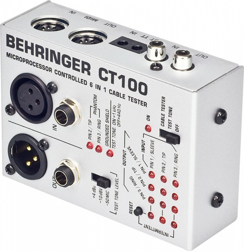Testador De Cabos Profissional Behringer CT100