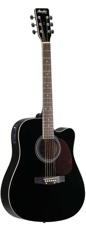 Violão Folk Eletroacustico Tagima Memphis MD18 C/ Afinador - Natural