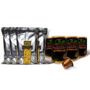 4 pcts  Moído Gourmet + 40 cápsulas de 5g tipo Nespresso®