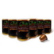 Diamantina - cápsulas tipo Nespresso® - 6 Latas com 10 cápsulas cada