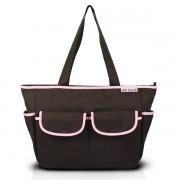 Bolsa de Bebê Lisa ABC15002-MR-PK Jacki Design