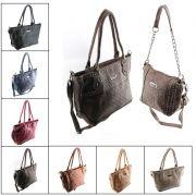 Bolsa Feminina kit com 2 , Alça De Mão E Transversal 90193
