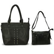 Bolsa Feminina kit com 2 Bolsas Alça Transversal e De Mão L902
