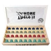 Caixas Para Capsula Café nespresso dolce gusto madeira 90762