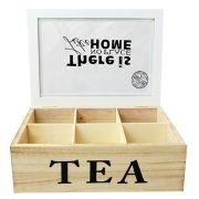 Caixas Para Chá em madeira - 90765