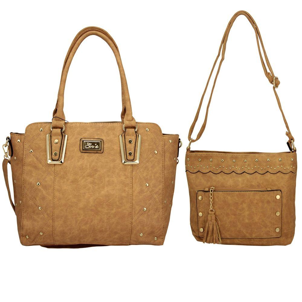 4bf1f2b61 Bolsa para Mulher kit com duas bolsas ED0035 - MMS Shop ...