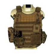 Colete - Combo Tactical I - Coyote Brown