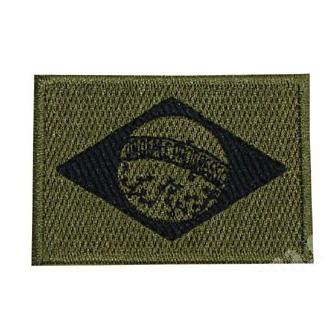 Bandeira do Brasil - Oliva