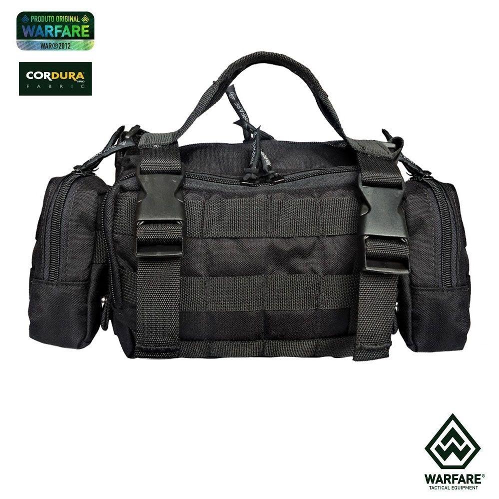 Bolsa Warfare - VERSIPACK II - Preto