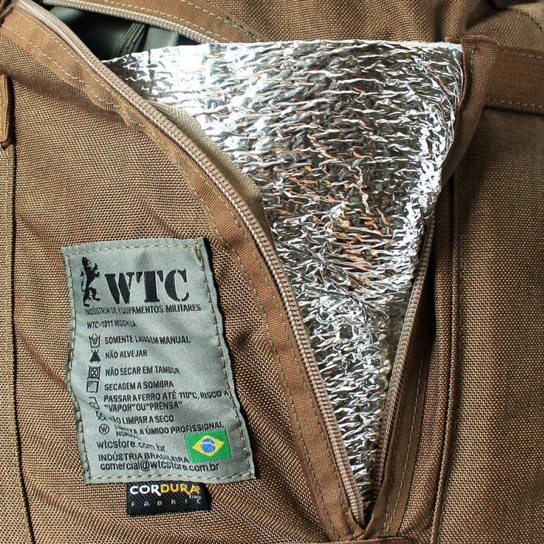 Mochila Multimissão 3 dias - WTC - Coyote Brown