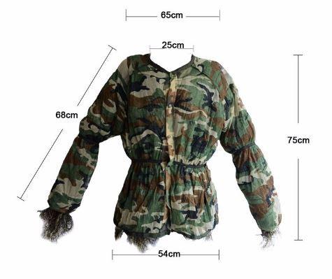 Guille Suit - Kit 4 em 1 Completo de Camuflagem - Caça e Airsoft