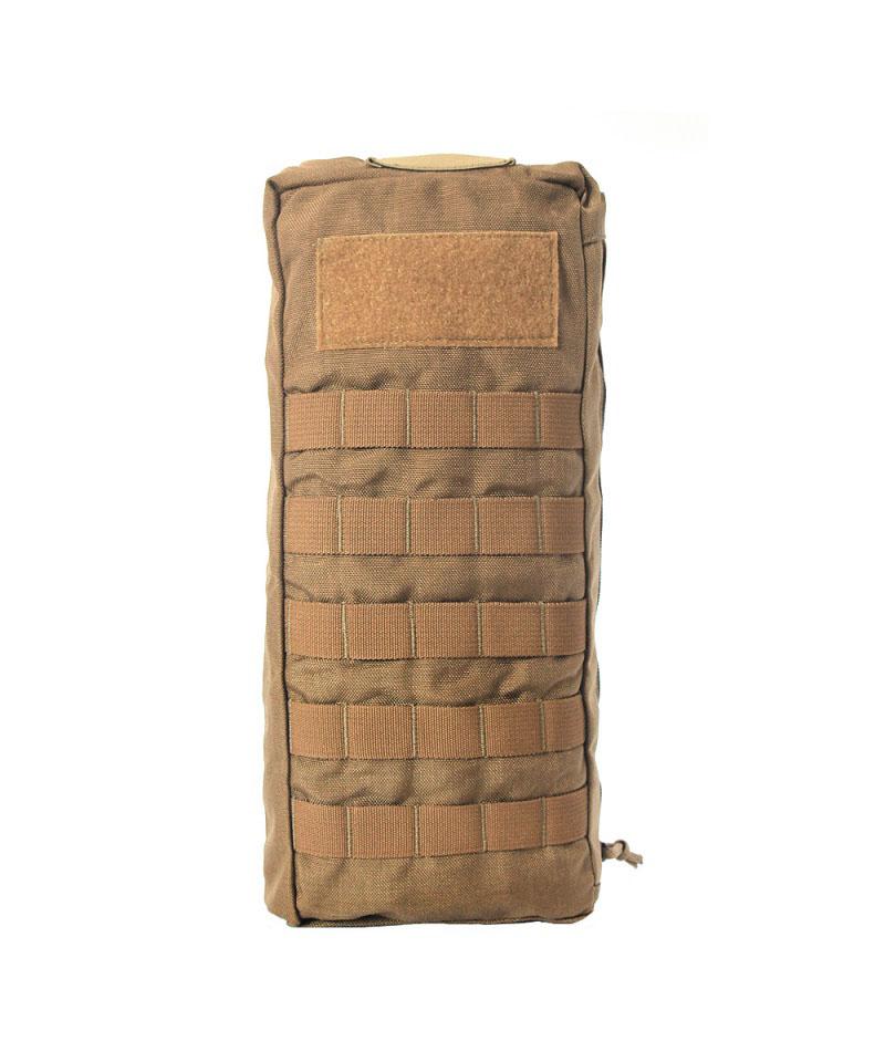 Porta bolsa de hidratação c/ manta térmica - WTC - Coyote Brown