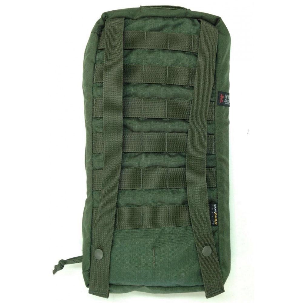 Porta bolsa de hidratação c/ manta térmica - WTC - Verde Oliva